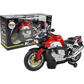 Speelgoed motorfiets op batterijen - rood