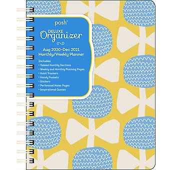 Posh Deluxe Organizer 17Month 20202021 MonthlyWeekly Planner Calendar  Blossoms and Bows by Andrews McMeel Publishing