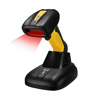 Adesso Bluetooth Antimicrobial Waterproof CCD Barcode Scanner
