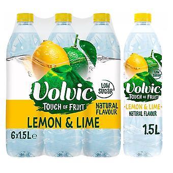 Volvic Citron & Lime 6 x 1.5L