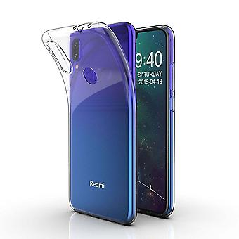 Hull For Xiaomi Redmi Note 7, High Quality Silicone Protective Cover, Transparent