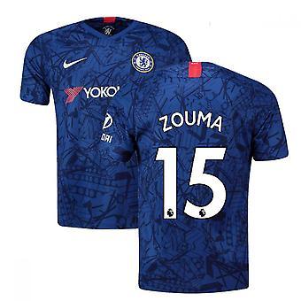 2019-20 Chelsean kotihöyryottelupaita (Zouma 15)