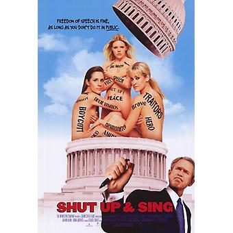 Shut Up and Sing Movie Poster Print (27 x 40)