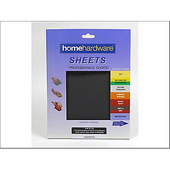 Home DIY (Paint Brushes) Wet & Dry 230 x 280mm Assorted x 4 070347