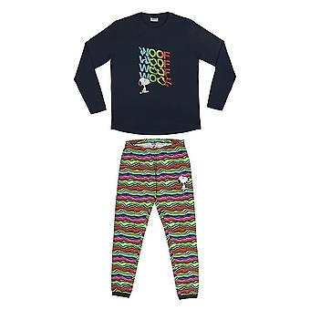 Kobiety&s Peanuts Snoopy & Woof&Apos; Zestaw piżamy z mankietem