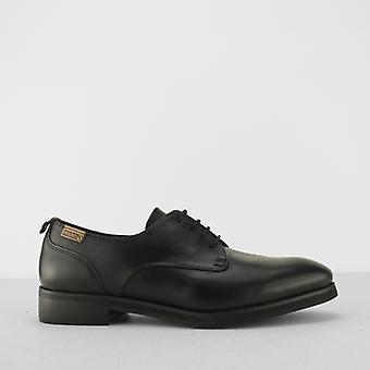 Pikolinos Royal naiset nahka pitsi ylös kengät musta