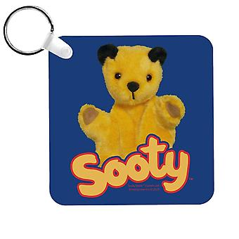 Sooty With Classic Logo Keyring