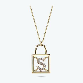 Brev Ş guld halsband