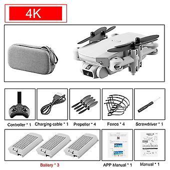 4K HD واسعة الزاوية كاميرا واي فاي بدون طيار، ارتفاع حفظ مع كاميرا فيديو لايف RC