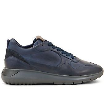 Hogan Interaktiv 3 Blå Gradient Læder Sneakers