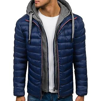 Winter Männer Casual Jacken und Mäntel dicke Parka Oberbekleidung Kleidung