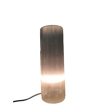 Selenite Flat Top Lamp