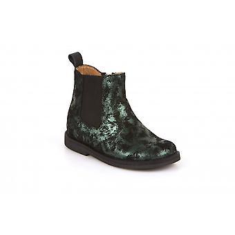 FRODDO Chelsea Boot Black & Green