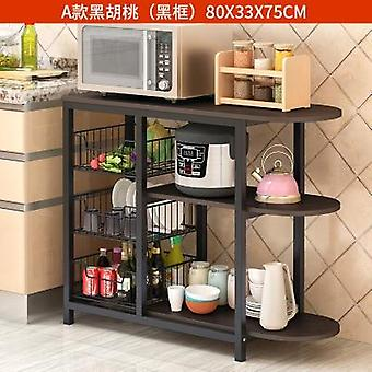 Dining Table Kitchen Storage Shelf Storage Shelf Microwave Stand Multi-layer