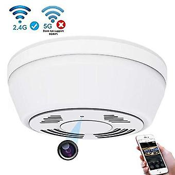 Hidden camera smoke detector wifi,yieye motion activated hidden spy camera with 180 days battery pow