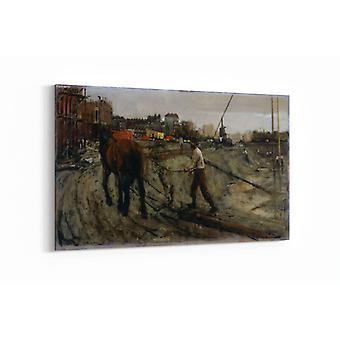 Malerei - Baustelle - 90x60cm