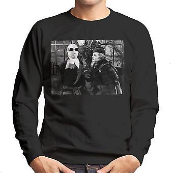 The Invisible Man And Flora Cranley Men's Sweatshirt