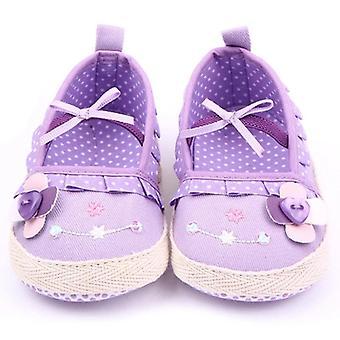 Unisex Floral Leopard Soft Sole Shoes