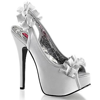 Bordello Women's Shoes TEEZE-56 Slv Satin