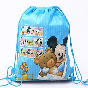Cartoon Mickey Mouse Muster, Bundle Tasche doppelseitige Vliestuch