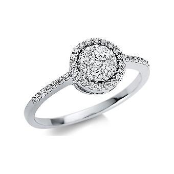 Luna Creación Promessa Ring Illusion 1U450W854-1 - Ancho del anillo: 54