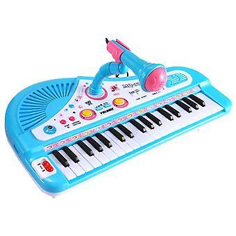 Piano Baby Keyboard Chidren Fingers Kids Music 37 Keys Plastic Cute