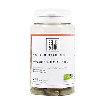 Organic milk thistle 120 vegetable capsules