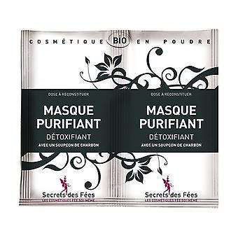 Detoxifying purifying mask with a hint of charcoal 9 g