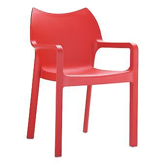 Beak Arm Chair - Red