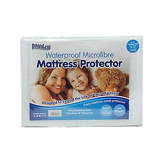 Dreameasy Microfibre Waterproof Quilted Mattress Protector