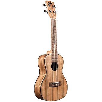 Kala ka-pwc pacific walnut concert ukulele, natural, concert