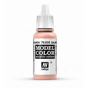 Vallejo Model Color 17ml Acrylic Paint - 835 Salmon Rose