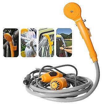 Tragbare Auto-Dusche-Waschwerkzeug 12v - Wasserpumpen für Camping Reisen Strand Schwimmen Haustiere Bad