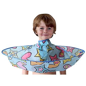 Kids Hair Cutting Cape Gown Hairdresser Barber Apron For Hair Dressing  / Cut