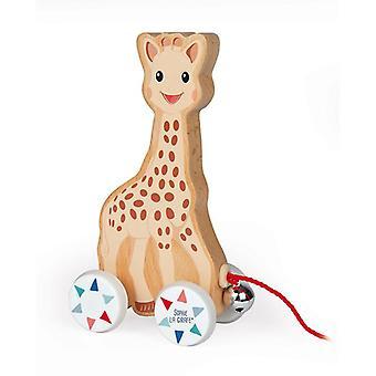 Janod sophie la girafe pull-along leksak