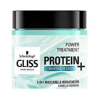 Schwarzkopf Gliss Protein+ Mascarilla Hidratación cabello normal 400 ml