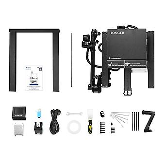 Longer lk4 3d printer with touch screen resuming printing filament detector new frame design 3d printer kit open source