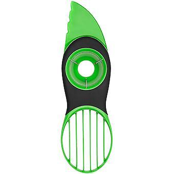 Avocado Cutter, 3-in-1 - Green