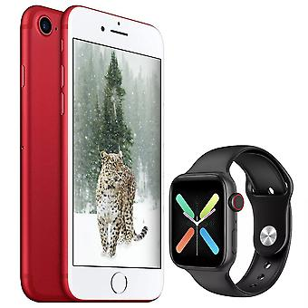 iPhone 7 Red 128GB + Smartwatch X8 Black (Gift)