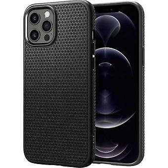 Spigen Liquid Air Back cover Apple iPhone 12 Pro Black
