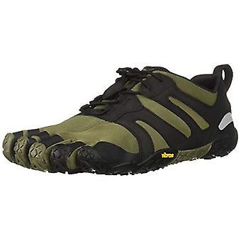 Vibram V-Trail 2.0 Five Fingers Barefoot Feel Outdoor Running Trainers Ivy/Black