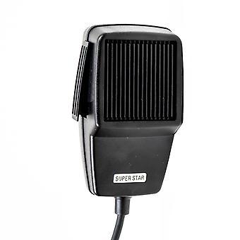 Microphone dynamique PNI DYN02 de type 6 broches pour station de radio CB