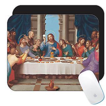 هدية Mousepad : العشاء الأخير الكاثوليكية