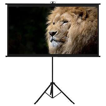 "vidaXL projector screen with tripod 90"" 4:3"