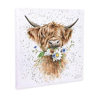 Wrendale Designs Daisy Cow Canvas