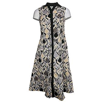 Isaac Mizrahi Live! Dress P Sleeveless Gray A379466