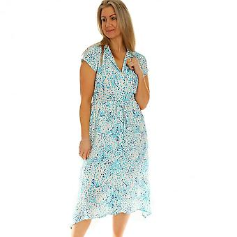 POMODORO Pomodoro Turquoise Dress 62102