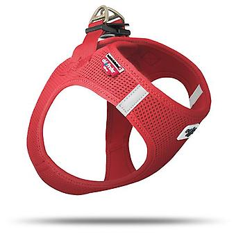 Curli Mesh Harness For Dogs Red 2 Xs (Dogs , Collars, Leads and Harnesses , Harnesses)