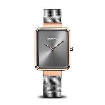 BERING Analogueic Horloge Quartz Vrouw met roestvrijstalen band 14528-369