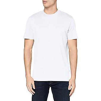 SELECTED HOMME SLHRELAXCOLMAN200 SS O-Neck Tee S Noos T-Shirt, Bright White, L Man